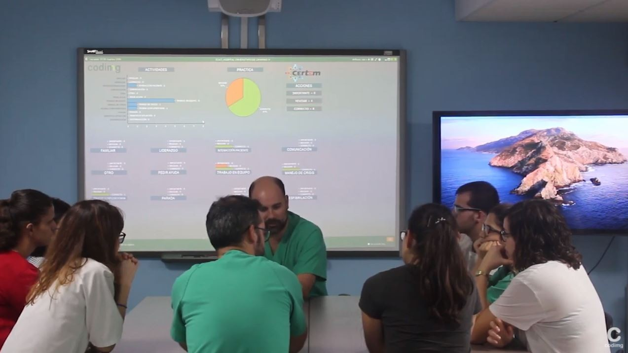 codimg video analysis clinical simulation dashboard